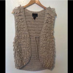Cynthia Rowley Shag Vest